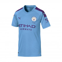 Manchester City 19/20 Youth Home Jersey